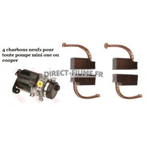 4 charbons pour  Mini cooper one