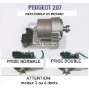 moteur et calculateur direction 207